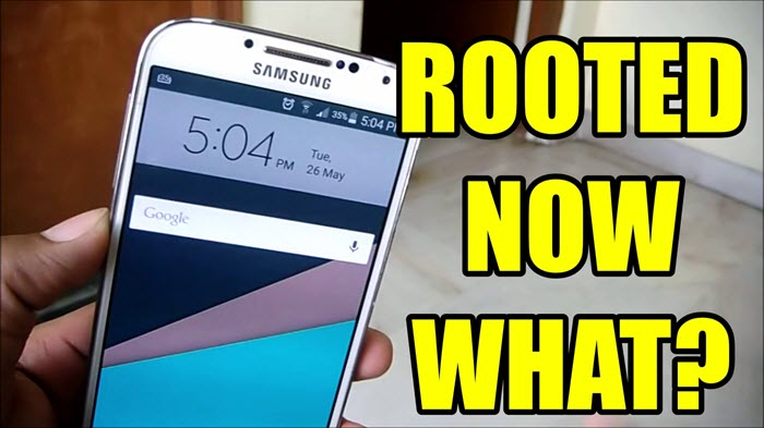 14 Things To Do After Rooting Your Android Smartphone