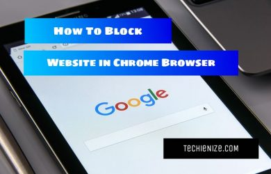 How to Block Website in Chrome Browser