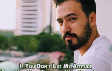Attitude instagram captions