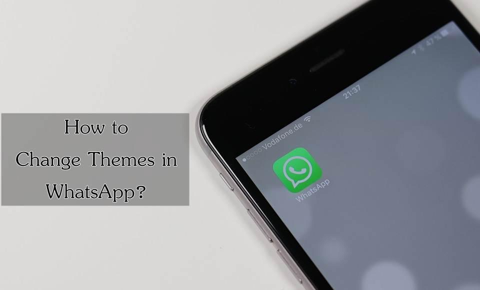 Change WhatsApp Theme Using YoWhatsapp